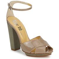 Cipők Női Szandálok / Saruk Keyté KRISTAL-26722-TAUPE-FLY-3 Tópszínű