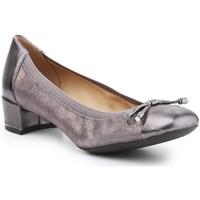 Cipők Női Balerina cipők  Geox D Carey Srebrne,Złote