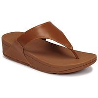 Cipők Női Szandálok / Saruk FitFlop LULU LEATHER TOEPOST Karamell