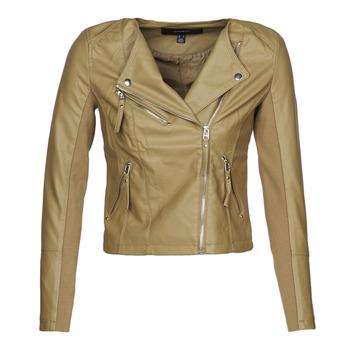 Ruhák Női Bőrkabátok / műbőr kabátok Vero Moda VMRIAFAVO Bézs