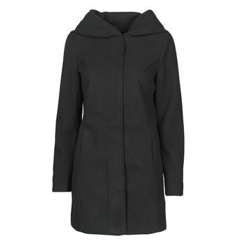 Ruhák Női Kabátok Vero Moda VMDAFNEDORA Fekete