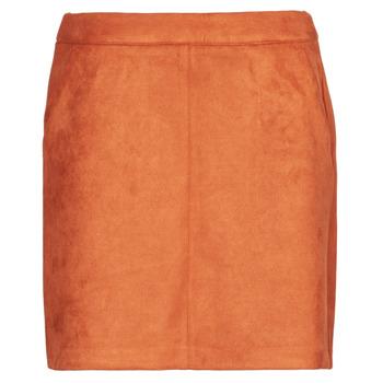Ruhák Női Szoknyák Vero Moda VMDONNADINA Narancssárga