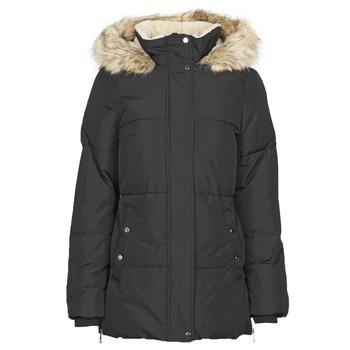 Ruhák Női Parka kabátok Vero Moda VMFINLEY Fekete