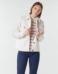 Ruhák Női Kabátok / Blézerek Vero Moda VMCOZY Ekrü