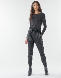 Ruhák Női Chino nadrágok / Carrot nadrágok Vero Moda VMEVA Fekete