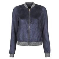 Ruhák Női Bőrkabátok / műbőr kabátok Vero Moda VMSUMMERELISA Tengerész