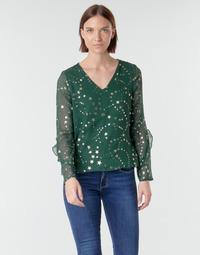 Ruhák Női Blúzok Vero Moda VMFEANA Zöld