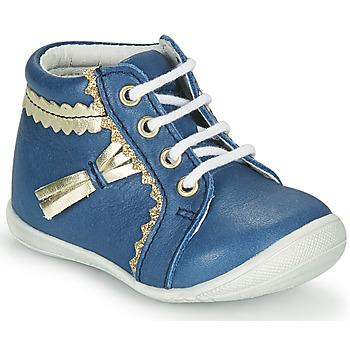 Cipők Lány Magas szárú edzőcipők GBB ACINTA Kék