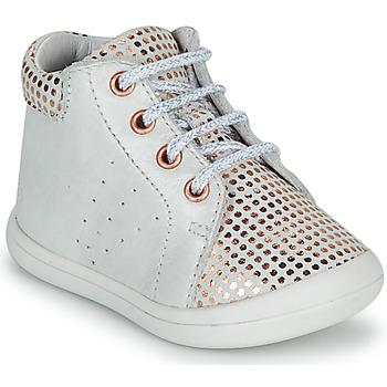 Cipők Lány Magas szárú edzőcipők GBB NAHIA Fehér