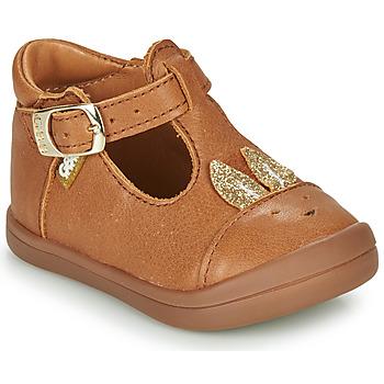 Cipők Lány Balerina cipők  GBB ANINA Konyak