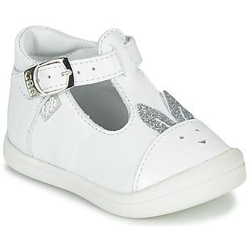 Cipők Lány Balerina cipők  GBB ANINA Fehér