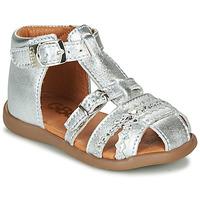 Cipők Lány Szandálok / Saruk GBB ALIDA Ezüst
