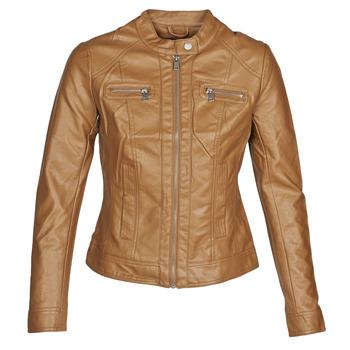 Ruhák Női Bőrkabátok / műbőr kabátok Only ONLBANDIT Konyak