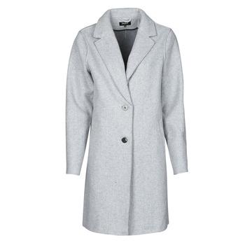 Ruhák Női Kabátok Only ONLCARRIE BONDED Szürke