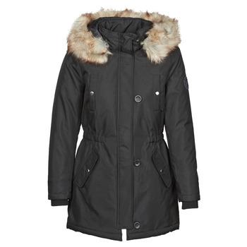 Ruhák Női Parka kabátok Only ONLIRIS Fekete
