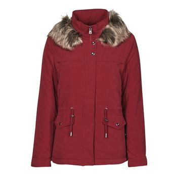 Ruhák Női Parka kabátok Only ONLSTARLINE Bordó