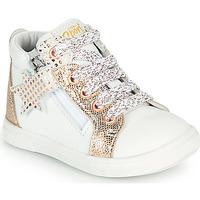 Cipők Lány Magas szárú edzőcipők GBB VALA Fehér