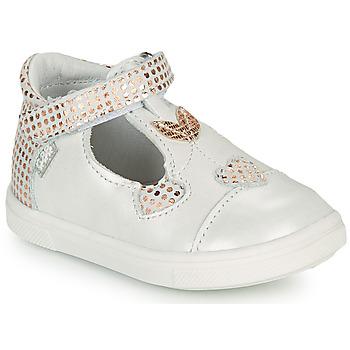 Cipők Lány Balerina cipők  GBB EMILA Fehér