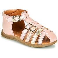 Cipők Lány Szandálok / Saruk GBB PERLE Rózsaszín