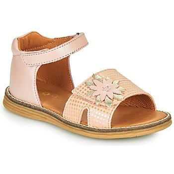 Cipők Lány Szandálok / Saruk GBB SATIA Rózsaszín