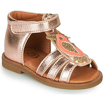 Cipők Lány Szandálok / Saruk GBB FRANIA Rózsaszín / Arany