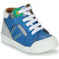 Cipők Fiú Magas szárú edzőcipők GBB ANATOLE Kék