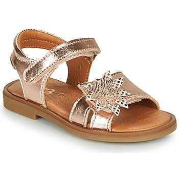 Cipők Lány Szandálok / Saruk GBB UPPLA Rózsaszín / Arany