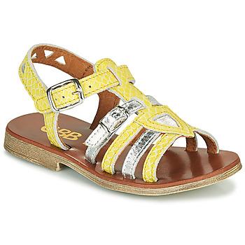Cipők Lány Szandálok / Saruk GBB FANNI Citromsárga