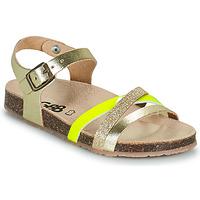 Cipők Lány Szandálok / Saruk GBB LULUNE Arany