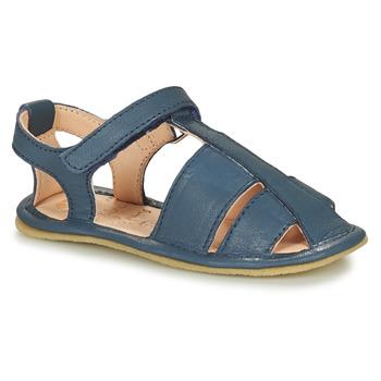 Cipők Gyerek Mamuszok Easy Peasy NOBLU Kék