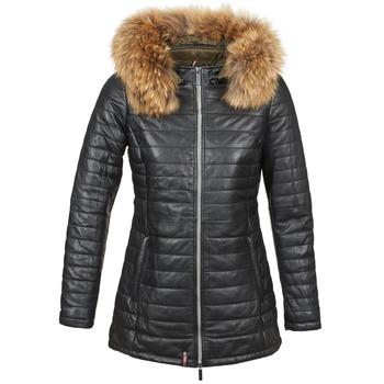 Ruhák Női Steppelt kabátok Oakwood 61679 Fekete