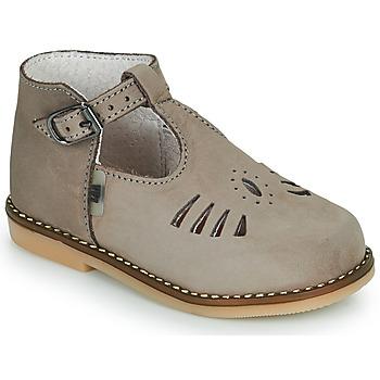 Cipők Lány Magas szárú edzőcipők Little Mary SURPRISE Szürke