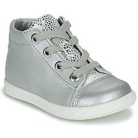 Cipők Lány Magas szárú edzőcipők Little Mary VITAMINE Ezüst