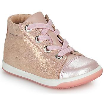Cipők Lány Magas szárú edzőcipők Little Mary VITAMINE Rózsaszín