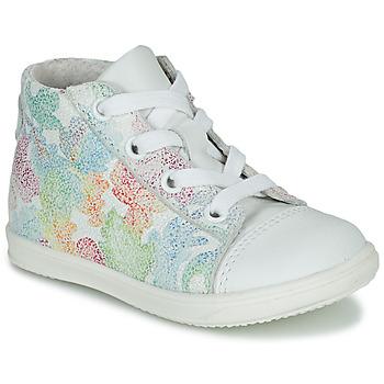 Cipők Lány Magas szárú edzőcipők Little Mary VITAMINE Fehér