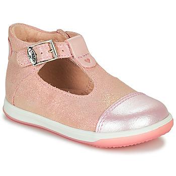 Cipők Lány Balerina cipők  Little Mary VALSEUSE Rózsaszín