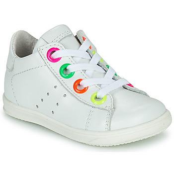 Cipők Lány Magas szárú edzőcipők Little Mary DOROTHE Fehér