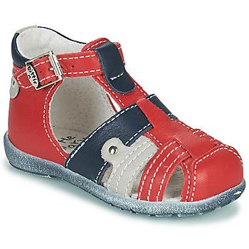 Cipők Fiú Szandálok / Saruk Little Mary VERCORS Piros