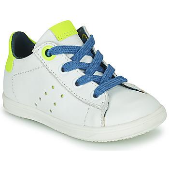 Cipők Fiú Rövid szárú edzőcipők Little Mary DUSTIN Fehér