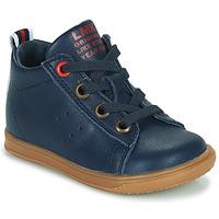 Cipők Fiú Magas szárú edzőcipők Little Mary LEON Kék