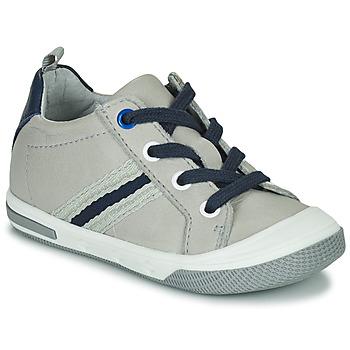 Cipők Fiú Rövid szárú edzőcipők Little Mary LOGAN Szürke