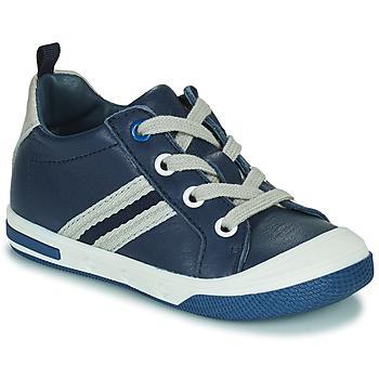 Cipők Fiú Rövid szárú edzőcipők Little Mary LOGAN Kék