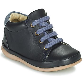 Cipők Lány Magas szárú edzőcipők Little Mary GAMBARDE Kék