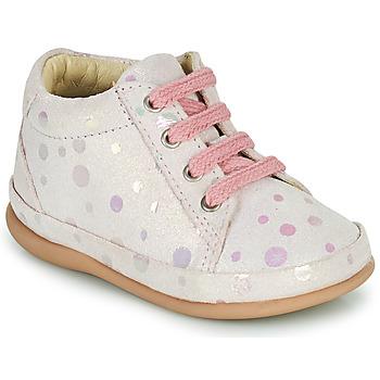 Cipők Lány Magas szárú edzőcipők Little Mary GAMBARDE Rózsaszín