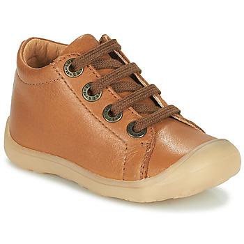 Cipők Gyerek Magas szárú edzőcipők Little Mary GOOD Barna