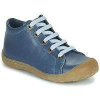Cipők Gyerek Magas szárú edzőcipők Little Mary GOOD Kék