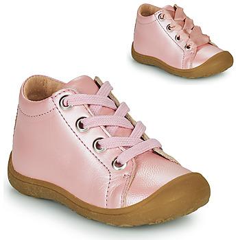 Cipők Gyerek Magas szárú edzőcipők Little Mary GOOD Rózsaszín
