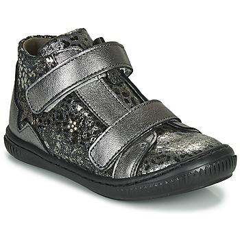 Cipők Lány Magas szárú edzőcipők Little Mary JACKLYN Ezüst