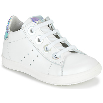 Cipők Lány Rövid szárú edzőcipők Little Mary DOROTHE Fehér
