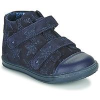 Cipők Lány Magas szárú edzőcipők Little Mary ADELINE Tengerész